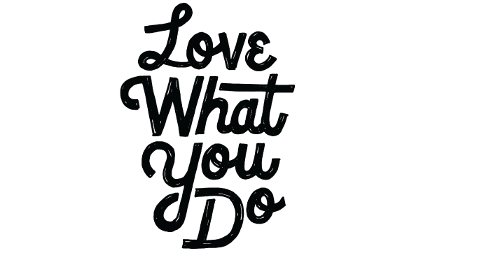 love what you do sketch small