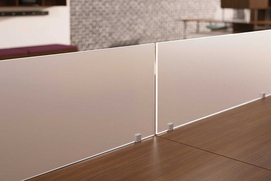 VS style above-surface mount acrylic screens