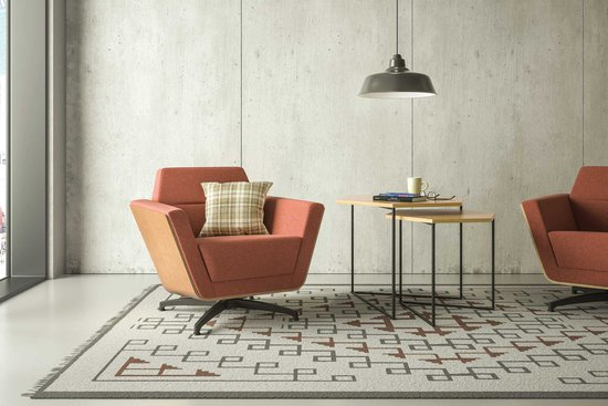 BeSpace lounge with Trail occasional tables