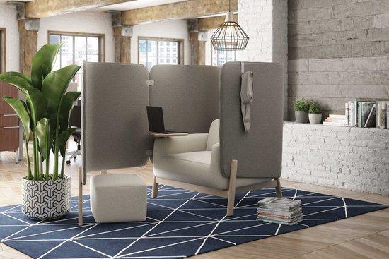 Cāav lounge pod with ottoman