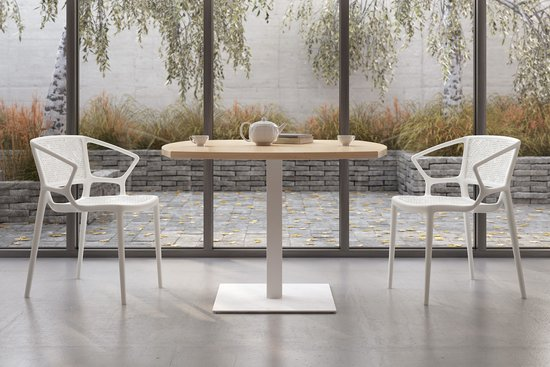 Florette chairs with Nosh table