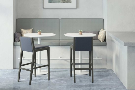 Millie Stools with Nosh Tables