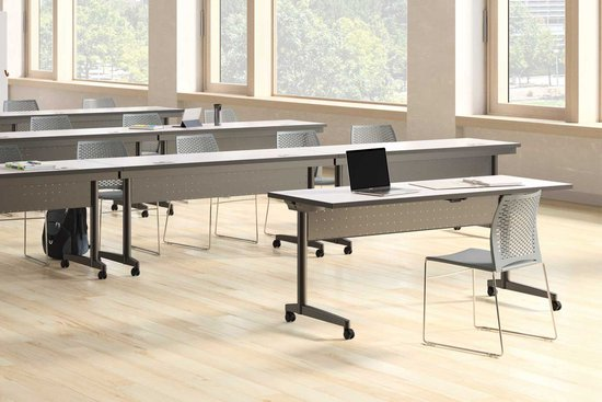 Learning - Prep training tables with Hoopz seating and Indie tiles