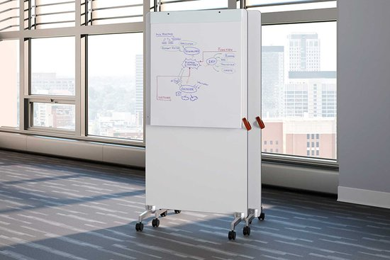 LG style freestanding mobile markerboards